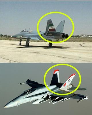 Saeqeh-und-F-18-Hornet