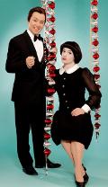 Toni und Ursli Pfister als Peter Alexander und Mireille Mathieu