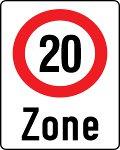 Tempo 20 Zone