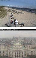Webcam-Bilder Wien und Trassenheide