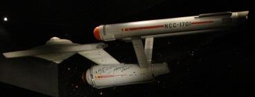 Die Enterprise im Science Fiction Museum in Seattle.