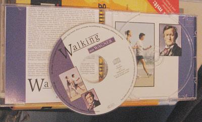 """Walking mit Wagner - eine CD um beschwingt-pathetisch zu """"walken"""""""