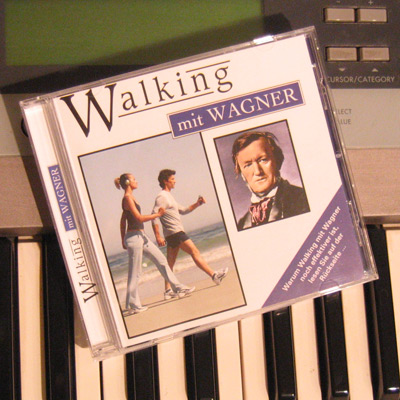 Walking mit Wagner - Eine Cd zur Walking-Untermalung