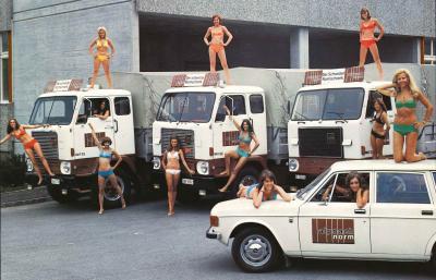 Eine Kopie der Original Alpnach-Kalender-Girls nach der Alpnachnorm von 1974. Tradition und innovation - einst und heute.