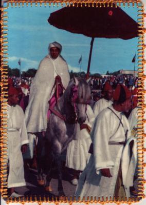 Sa Majest&eacute; Hassan II<br /> L&eacute;O Atlante Casablanca<br /> Vertraulich