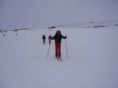 Mit Guido und Til auf unserem Weg nach Vakkotavare