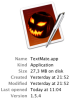 Textmate Halloween Icon