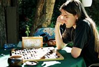 Go-Spieler, Foto: Martin Chrz
