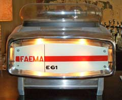 faema e61, the machine.