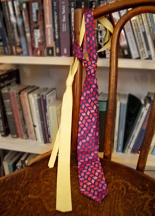 meine zwei krawatten
