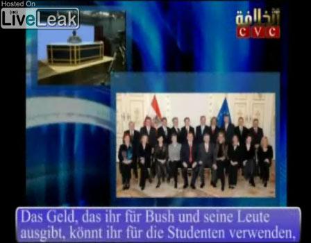 Das Terrorvideo der Mujahideen an Österreich
