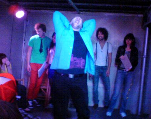 rip performing at MYYY BITCH CLUB Fancy Footwork Contest
