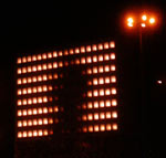 berlin is dancing. blinken lights reloaded, alexanderplatz 2003/04