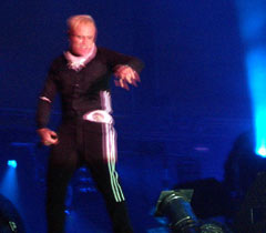 keith flint of prodigy screams as usual