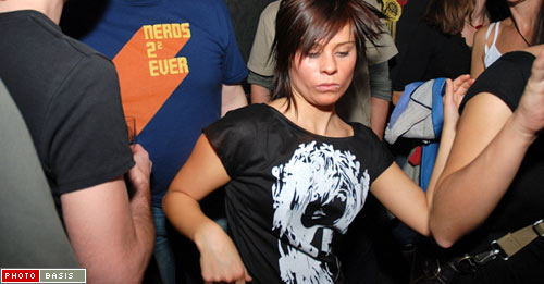 Dancer at Subotron Party WIRR