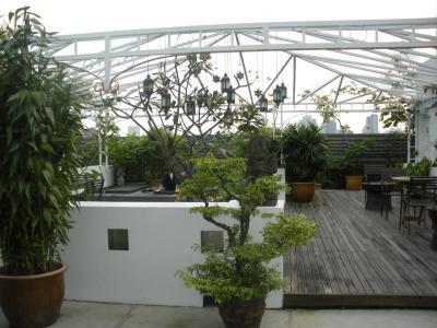 Dachterrasse-hangout