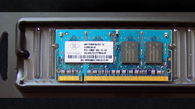 512 MB DDR2 CL5 SO-DIMM PC2-5300 (667MHz), 200 Pin