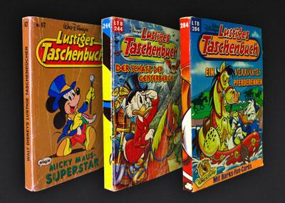 Drei lustige Taschenbücher: LTB 67, LTB 244, LTB 284