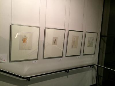 Meine Zeichnungen in der Graphothek Berlin
