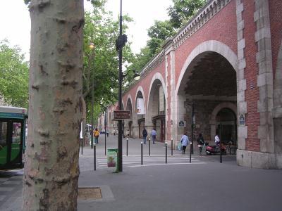 avenue daumesnil - viaduct des arts
