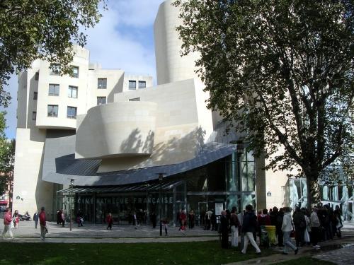 cinematheqie francaise, bercy