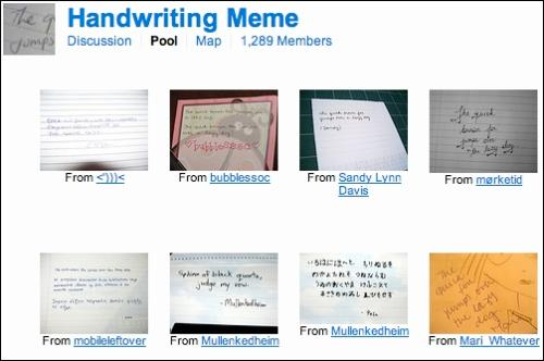 handwriting