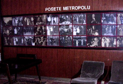 picture gallery, lobby of hotel metropol, belgrade