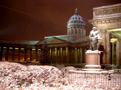 kazan - cathedral in st. petersburg