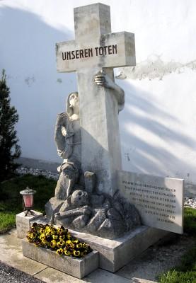 vertriebenendenkmal friedhof poysdorf
