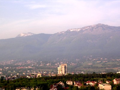 sofia, seen from hotel kempinski