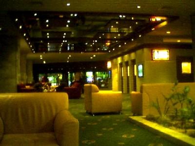 lobby of kempinski hotel