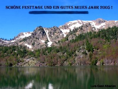lura lakes, albania