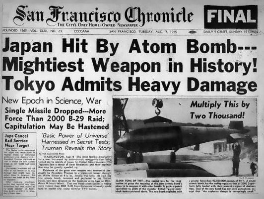 Atombombe-Hiroshima-San-F-Chronicle