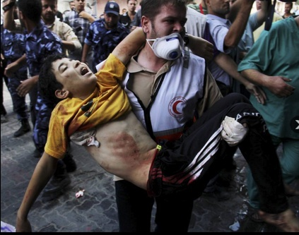 Gaza-Verletzter
