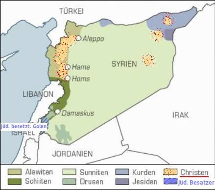 Syrien-Religionen