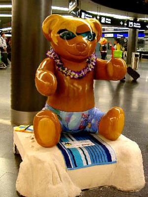bears at zurich airport