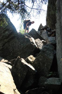 Hiking Squam Lake