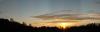 Abendhimmel über Albisreute