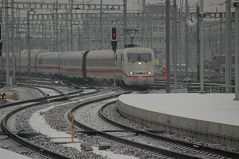 ICE Train in Zürich
