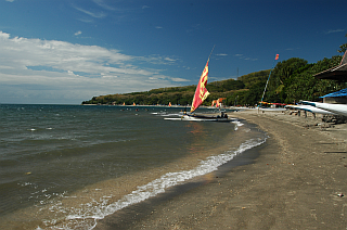 Beach between Probolinggo and Situbondo