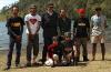 Indonesian trekking group at Ranu Kumbolo