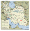 Political Map Iran