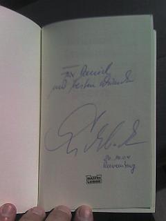 Signiertes Buch Kelwitts Stern