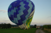 Ballon landet