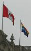 The Peruian flags