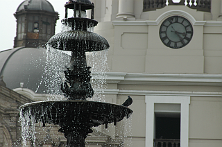 Fountain in front of the cathedral