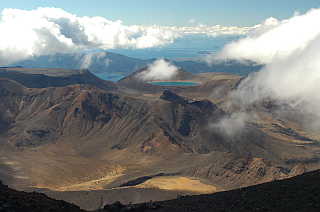 Look onto Tongariro Crossing