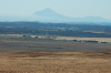 Lone Taranaki looming at the horizon