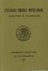 Mexiko Visabüchlein (Deckblatt)