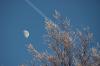Mond und Flieger